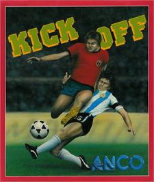 Box cover for Kick Off: Extra Time on the Atari ST.