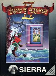 Box cover for King's Quest II: Romancing the Throne on the Atari ST.