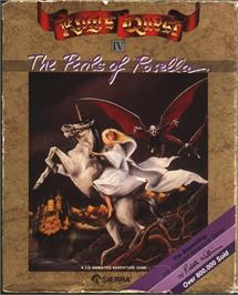 Box cover for King's Quest IV: The Perils of Rosella on the Atari ST.