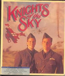 Box cover for Knights of the Sky on the Atari ST.