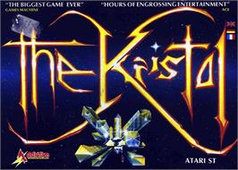 Box cover for Kristal on the Atari ST.