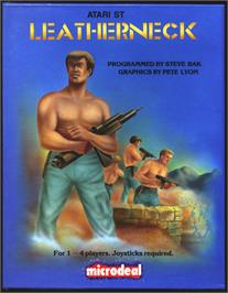 Box cover for Leather Neck on the Atari ST.