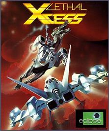 Box cover for Lethal Xcess: Wings of Death 2 on the Atari ST.