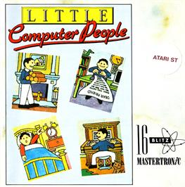 Box cover for Little Computer People on the Atari ST.