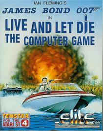 Box cover for Live and Let Die on the Atari ST.