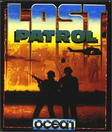 Box cover for Lost Patrol on the Atari ST.