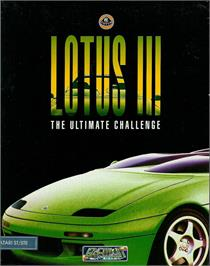 Box cover for Lotus: The Ultimate Challenge on the Atari ST.