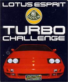 Box cover for Lotus Esprit Turbo Challenge on the Atari ST.