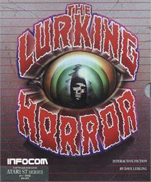 Box cover for Lurking Horror on the Atari ST.