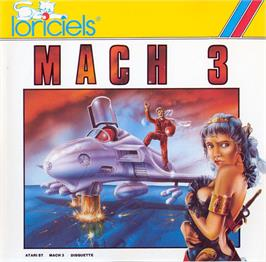 Box cover for Mach 3 on the Atari ST.