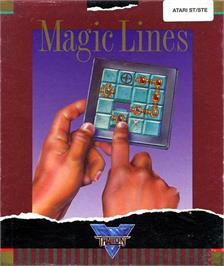 Box cover for Magic Lines on the Atari ST.
