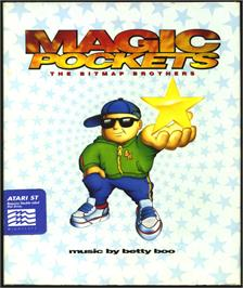Box cover for Magic Pockets on the Atari ST.