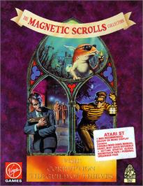 Box cover for Magnetic Scrolls Collection on the Atari ST.