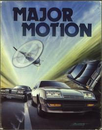 Box cover for Major Motion on the Atari ST.