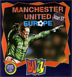 Box cover for Manchester United Europe on the Atari ST.
