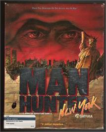 Box cover for Manhunter: New York on the Atari ST.