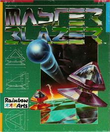 Box cover for Master Blazer on the Atari ST.