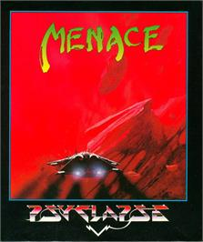 Box cover for Menace on the Atari ST.