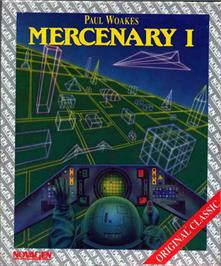 Box cover for Mercenary: Escape From Targ with the Second City on the Atari ST.
