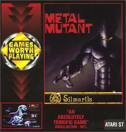 Box cover for Metal Mutant on the Atari ST.