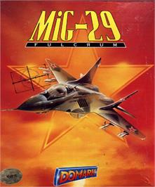 Box cover for MiG-29 Fulcrum on the Atari ST.