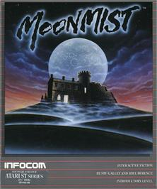 Box cover for Moonmist on the Atari ST.