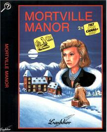 Box cover for Mortville Manor on the Atari ST.