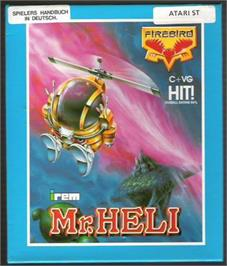 Box cover for Mr. Heli on the Atari ST.