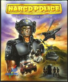 Box cover for Narco Police on the Atari ST.