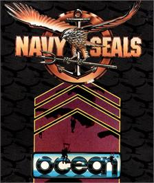 Box cover for Navy Seals on the Atari ST.