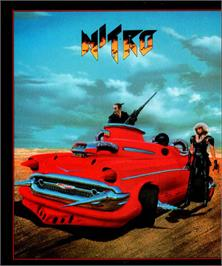 Box cover for Nitro on the Atari ST.