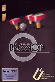 Box cover for Obsession on the Atari ST.