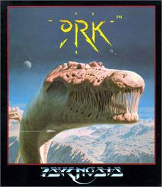 Box cover for Ork on the Atari ST.