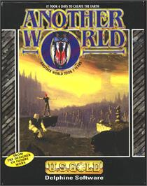 Box cover for Out of This World on the Atari ST.