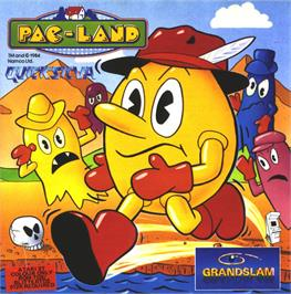 Box cover for Pac-Land on the Atari ST.