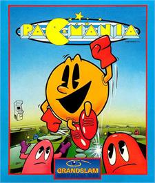 Box cover for Pac-Mania on the Atari ST.