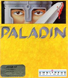Box cover for Paladin on the Atari ST.