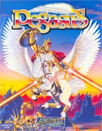 Box cover for Pegasus on the Atari ST.
