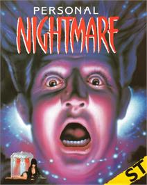 Box cover for Personal Nightmare on the Atari ST.