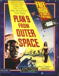 Box cover for Plan 9 From Outer Space on the Atari ST.