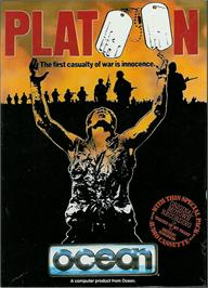 Box cover for Platoon on the Atari ST.