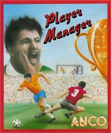 Box cover for Player Manager on the Atari ST.