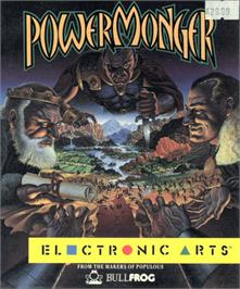 Box cover for Powermonger on the Atari ST.