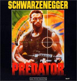 Box cover for Predator on the Atari ST.