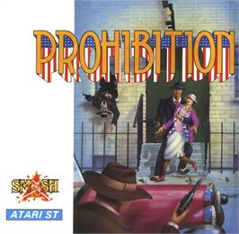 Box cover for Prohibition on the Atari ST.