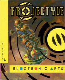Box cover for Projectyle on the Atari ST.