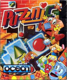 Box cover for Puzznic on the Atari ST.