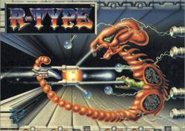 Box cover for R-Type on the Atari ST.