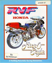 Box cover for RVF Honda on the Atari ST.