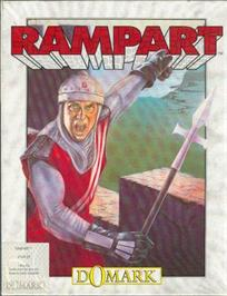 Box cover for Rampart on the Atari ST.